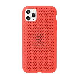 HAMEE ハミィ [iPhone 11 Pro Max専用]AndMesh メッシュiPhoneケース AndMesh レッド 612-960939