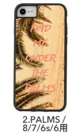 KIBAKOWORKS [iPhone 8/7/6s/6専用]kibaco WOOD iPhone Case kibaco FIND ME UNDER THE PALMS 663-104504