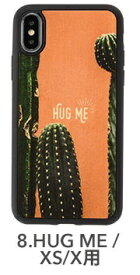 KIBAKOWORKS [iPhone XS/X専用]kibaco WOOD iPhone Case kibaco HUG ME 663-104566