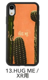 KIBACOWORKS キバコワークス [iPhone XR専用]kibaco WOOD iPhone Case kibaco HUG ME 663-104610