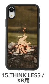 KIBACOWORKS キバコワークス [iPhone XR専用]kibaco WOOD iPhone Case kibaco THINK LESS 663-104634