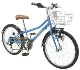 フォルクスワーゲン Volkswagen 22型 子供用自転車 Volkswagen Bicycles フォルクスワーゲン バイシクルズ(ブルー/外装6段変速) VW-22S 28452【2020年モデル】【組立商品につき返品不可】 【代金引換配送不可】