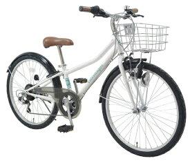 フォルクスワーゲン Volkswagen 22型 子供用自転車 Volkswagen Bicycles フォルクスワーゲン バイシクルズ(ホワイト/外装6段変速) VW-22S 28453【2020年モデル】【組立商品につき返品不可】 【代金引換配送不可】