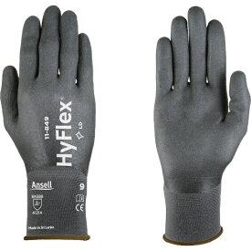 アンセル Ansell アンセル ニトリル背抜手袋 ハイフレックス 11−849 Lサイズ 11-849-9