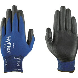 アンセル Ansell アンセル ニトリル背抜き手袋 ハイフレックス 11−816 Lサイズ 11-816-9