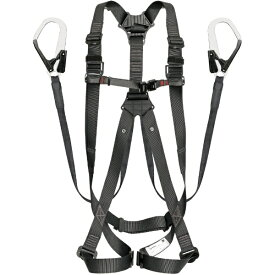 TJMデザイン タジマ ハーネスGS 平ロープ ダブルL1セット 黒L A1GSLFR-WL1BK