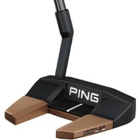 ピン PING パター HEPPLER ヘプラー TYNE 3 アジャストモデル 34インチ 標準グリップ: PP59(ブラック×カッパー)