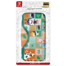 【2020年04月11日発売】 キーズファクトリー KeysFactory QUICK POUCH COLLECTION for Nintendo Switch どうぶつの森Type-A CQP-009-1[ニンテンドースイッチ アクセサリー]【Switch】