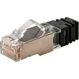 パンドウイット PANDUIT パンドウイット カテゴリ6A シールド付きモジュラープラグ 100個入り SPS6X28−C SPS6X28-C