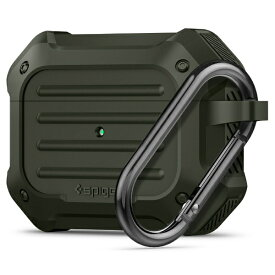 SPIGEN シュピゲン AirPods Pro用 Tough Armor グリーン ASD00539