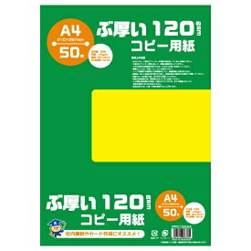 キョクトウアソシエイツ KYOKUTO PPC120A4 コピー用紙 ぶ厚いコピー用紙 120gsm [A4 /50枚]