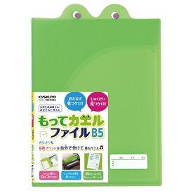キョクトウアソシエイツ KYOKUTO もってカエルファイルグリーン SE01G