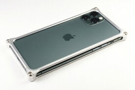 GILD design ギルドデザイン GILD DESIGN ソリッドバンパー for iPhone11ProMax シルバー