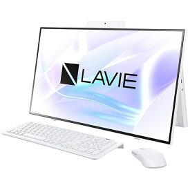 NEC エヌイーシー PC-HA970RAW デスクトップパソコン LAVIE Home All-in-one(HA970/RA ダブルチューナ搭載) ファインホワイト [27型 /HDD:3TB /SSD:256GB /メモリ:8GB /2020年春モデル][27インチ office付き 新品 一体型 windows10]