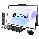 NEC エヌイーシー PC-HA970RAB デスクトップパソコン LAVIE Home All-in-one(HA970/RA ダブルチューナ搭載) ファイン…