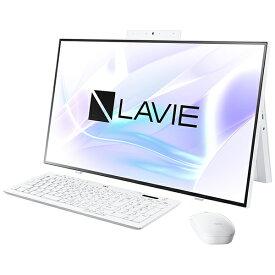 NEC エヌイーシー PC-HA700RAW デスクトップパソコン LAVIE Home All-in-one(HA700/RA) ファインホワイト [27型 /SSD:512GB /メモリ:8GB /2020年春モデル][27インチ office付き 新品 一体型 windows10]