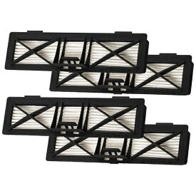 ネイトロボティクス NEATO ROBOTICS ネイト ボットバック用超高性能フィルター(4個入) ブラック NB-UF4