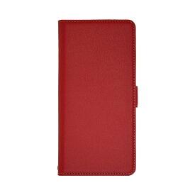 ラスタバナナ RastaBanana BASIO4 薄型手帳ケース サイドマグネット 5378BSO4BO レッド