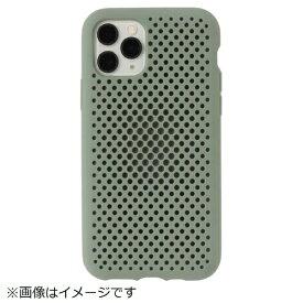 HAMEE ハミィ iPhone 11 Pro 5.8インチ AndMesh メッシュiPhoneケース 612-960717 クレイグリーン