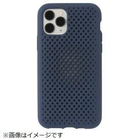 HAMEE ハミィ iPhone 11 Pro 5.8インチ AndMesh メッシュiPhoneケース 612-960724 ネイビー