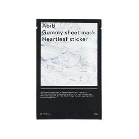 KAZU Abib (アビブ)グミ シート マスク #HEARTLEAF (1枚)〔パック〕