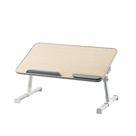 エレコム ELECOM ノートパソコンテーブル[〜15.6インチ] 折りたたみ 52cm幅 オーク調 PCA-LTTT5230OAK
