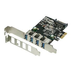 OWLTECH オウルテック インターフェースボード USB-A 3.0x4[PCI-Express] ロープロファイル対応 OWL-PCEXU3E4LS