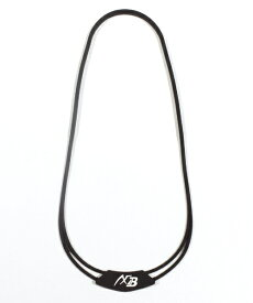 オギタへムト AXFxBelgard シリコンネックレス(全長約54cm/ブラック) 226905703
