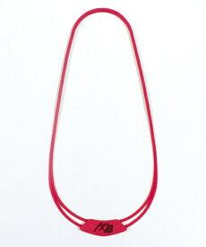 オギタへムト AXFxBelgard シリコンネックレス(全長約54cm/レッド) 226905722