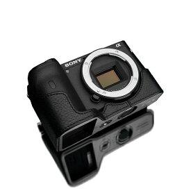 GARIZ ゲリズ SONY α6600用本革カメラケース ブラック XS-CHA6600BK