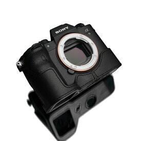 GARIZ ゲリズ SONY α9 II 用本革カメラケース ブラック XS-CHA9IIBK