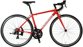 THIRDBIKES 700×28C ロードバイク FES ROAD フェスロード(レッド)TB-20-004【2020年モデル】【組立商品につき返品不可】 【代金引換配送不可】