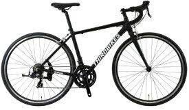 THIRDBIKES 700×28C ロードバイク FES ROAD フェスロード(マットブラック)TB-20-004【2020年モデル】【組立商品につき返品不可】 【代金引換配送不可】