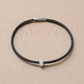BE;ION クリスタル ネックレス Crystal Necklace(46cm/クリスタル×シルバー) CR-BK-46S