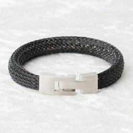 BE;ION レオン ブレスレット Leon Bracelet(17cm/ブラック) Leon-BK-17