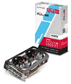 SAPPHIRE サファイヤ グラフィックボード PULSE RADEON RX 5600 XT 6G GDDR6 HDMI / TRIPLE DP OC W/BP (UEFI) [6GB /Radeon RXシリーズ]