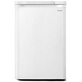 アイリスオーヤマ IRIS OHYAMA 《基本設置料金セット》IUSD-9A-W 冷凍庫 ホワイト [1ドア /右開きタイプ /85L]