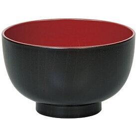田中箸店 TANAKA HASHI 汁椀飛鳥 黒 食器洗浄機対応 04020