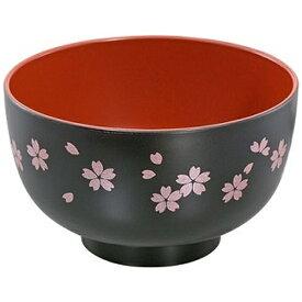 田中箸店 TANAKA HASHI さくら 汁椀 黒 食器洗浄機対応 04440
