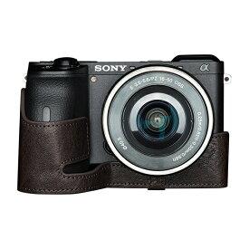 Ya Mei Technology ヤ メイ テクノロジー SONY α6600用カメラケース ブラウン TB06A6600CO