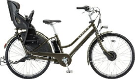 ブリヂストン BRIDGESTONE 26型 電動アシスト自転車 HYDEE.IIハイディーツー(T.XHカーキ/内装3段変速) HY6B40【2020年モデル】【組立商品につき返品不可】 【代金引換配送不可】