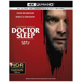 ワーナー ブラザース ドクター・スリープ <4K ULTLA HD&ブルーレイセット>【Ultra HD ブルーレイソフト】 【代金引換配送不可】