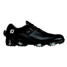 フットジョイ FootJoy 24.5cm/W:3E相当 メンズ ゴルフシューズ TOUR X BOA ツアー X ボア(ブラック×ライム)