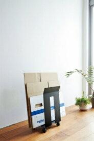 山崎実業 Yamazaki フレーム ダンボール&紙袋ストッカー フレームブラック(Corrugated Cardboard Box&Paper Bag Stocker Frame BK) ブラック 03302