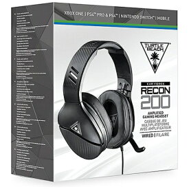 TURTLE BEACH タートルビーチ RECON 200 マルチプラットフォーム対応ゲーミングヘッドセット BLACK TBS-3200-01【PS4/Switch/Xbox One】
