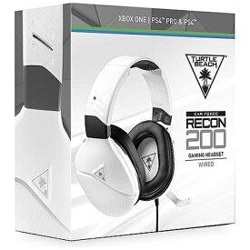 TURTLE BEACH タートルビーチ RECON 200 マルチプラットフォーム対応ゲーミングヘッドセット WHITE TBS-3220-01【PS4/Switch/Xbox One】