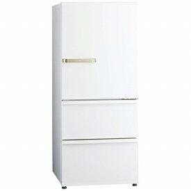 AQUA アクア 《基本設置料金セット》AQR-27J-W 冷蔵庫 ウォームホワイト [3ドア /右開きタイプ /272L][冷蔵庫 大型]