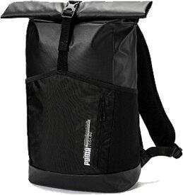 プーマ PUMA エナジー ロールトップ バックパック(29×45×15cm:容量18L/ブラック) 075762_01