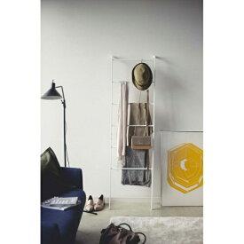 山崎実業 Yamazaki フレーム ラダーハンガー(ホワイト)(Ladder Hanger Frame WH) 3963