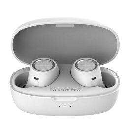 マクセル Maxell フルワイヤレスイヤホン MXH-BTW500WH ホワイト [ワイヤレス(左右分離) /Bluetooth]【rb_cpn】